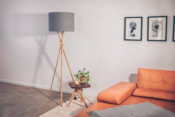 Stehlampe Glämwuorm