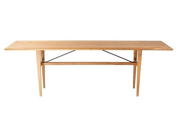 Tisch Miegampe in hoher Längsansicht