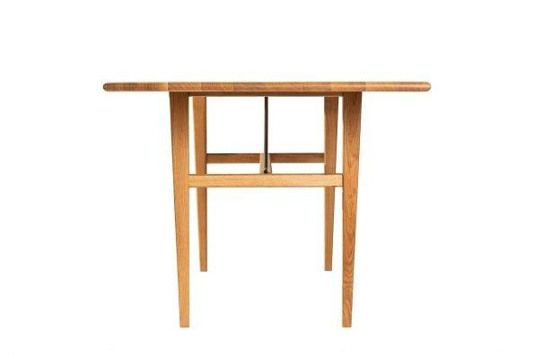 Tisch Miegampe in flacher Seitenansicht