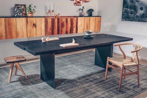 Tisch Wannerup mit geköhlter Platte