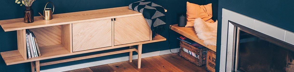 Sideboards und Garderoben aus nachhaltigem Massivholz online kaufen