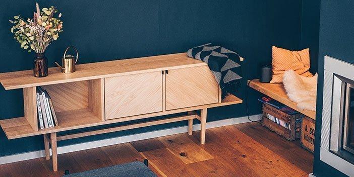 Sideboards und Garderoben aus nachhaltigem Massivholz