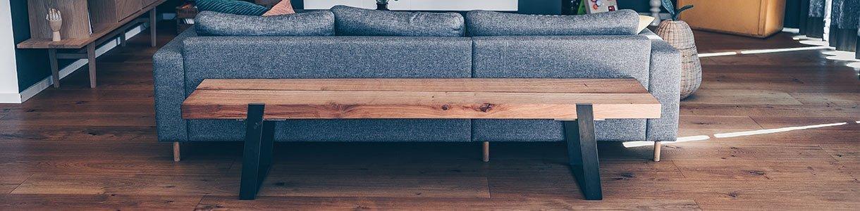 Bänke aus nachhaltigem Massivholz online kaufen