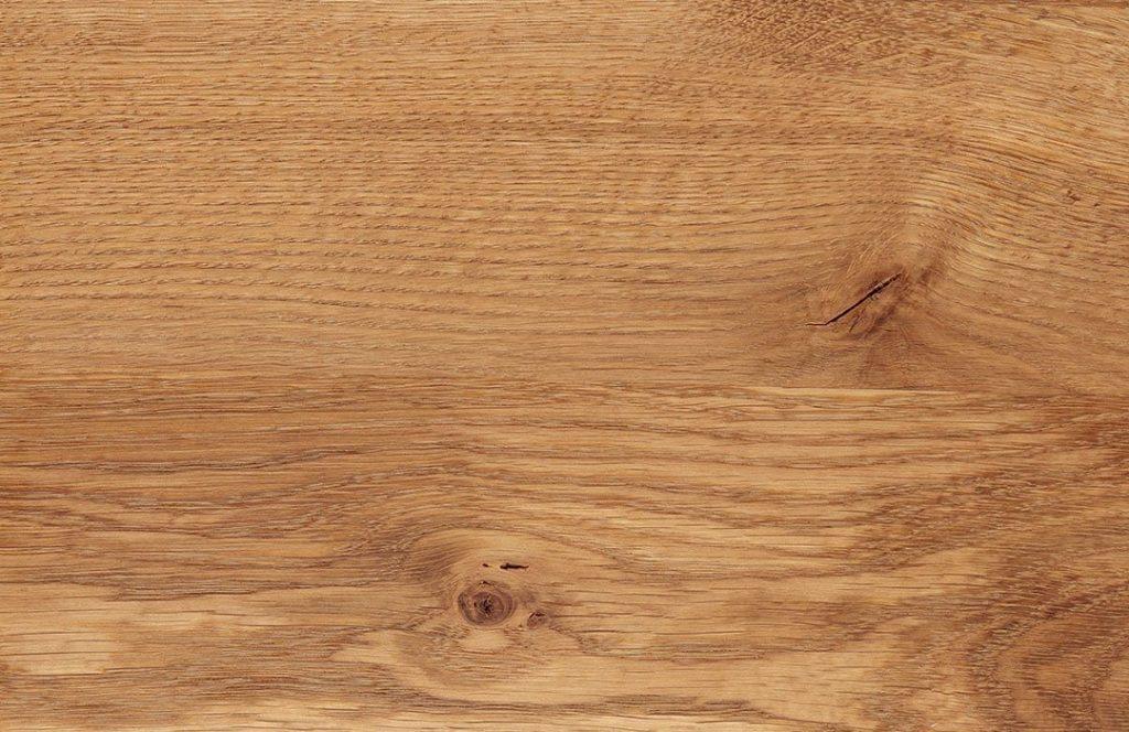 Eichenholz, gewachst und poliert