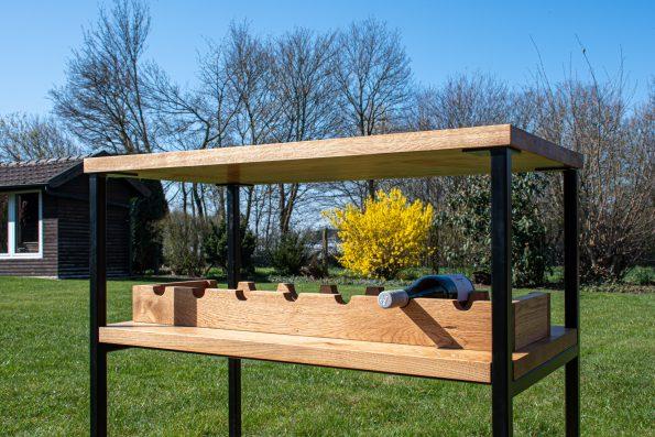 Barista Möbel Stockling mit Weinfächern
